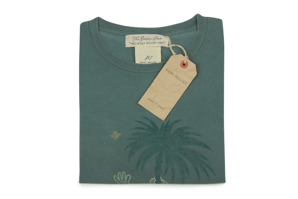 REMI RELIEF-San Fransisco Tee (Green)
