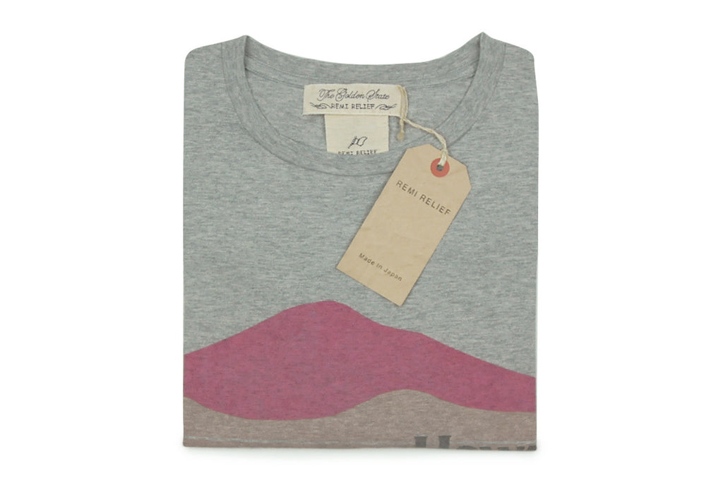 REMI RELIEF-Hawaiians Tee (Heather Grey)