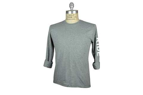 ˈw ə r k r o͝ o m by JEFFREY MARK-Ride Tee (Pewter Grey)