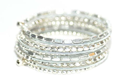 JEFFREY MARK COLLECTION-Coil Bracelet (Silver)