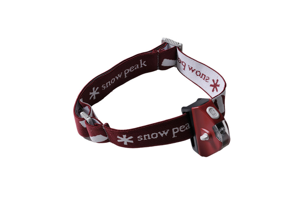 SNOW PEAK-Mola Headlamp (Wine)