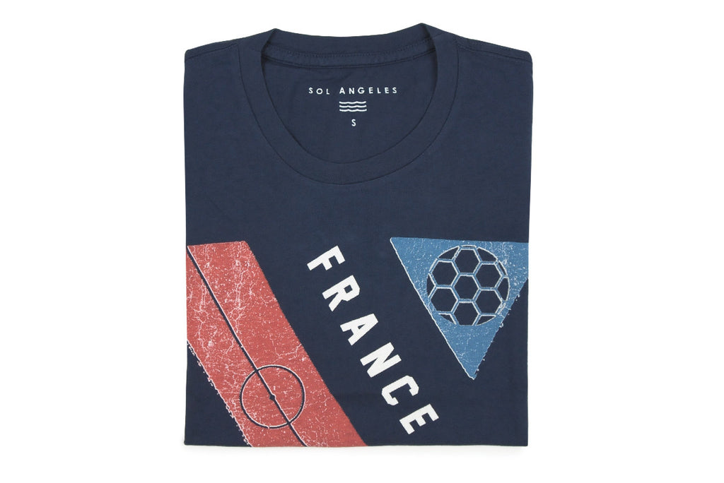 SOL ANGELES-France World Cup Tee (Navy)