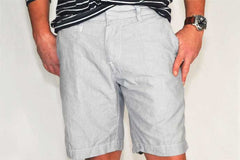Save Khaki Novelty Stripe Bermuda Short