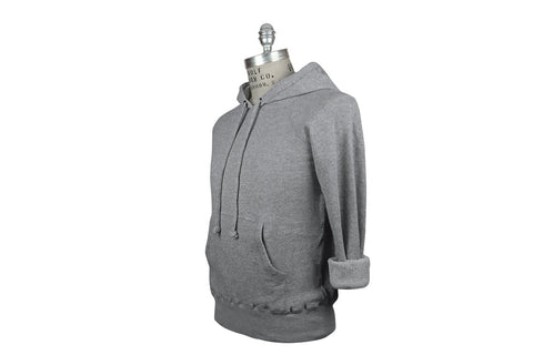 V: : Room-Cotton Gauze Fleece Hoodie (Heather Melange)