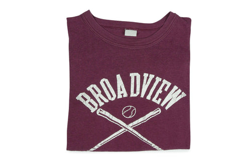 Vintage Broadview Tee (Varsity Red)