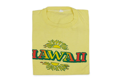 Vintage Hawaii Tee (Yellow)