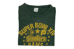 Vintage Super Bowl XIV-Steelers/Rams Tee (Spruce)
