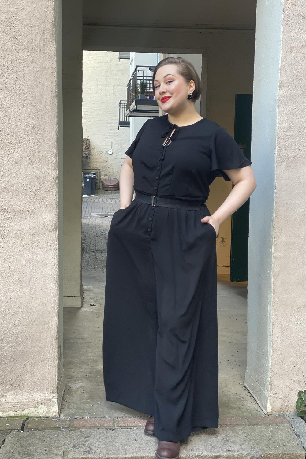 Unique Vintage Buksedress Orleans sort
