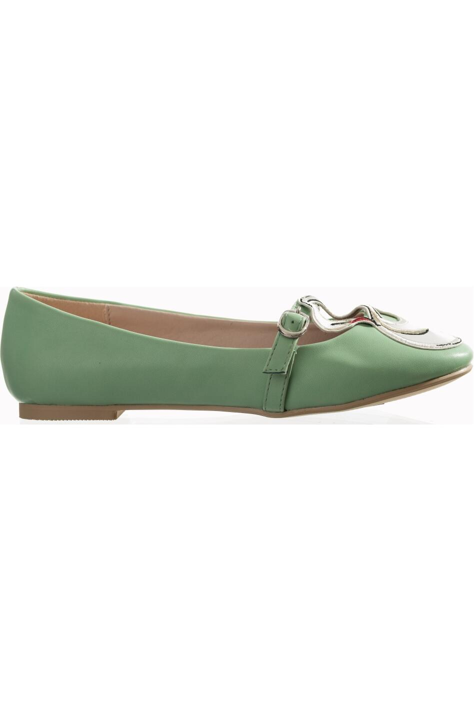 Banned Ballerinas Swan mint