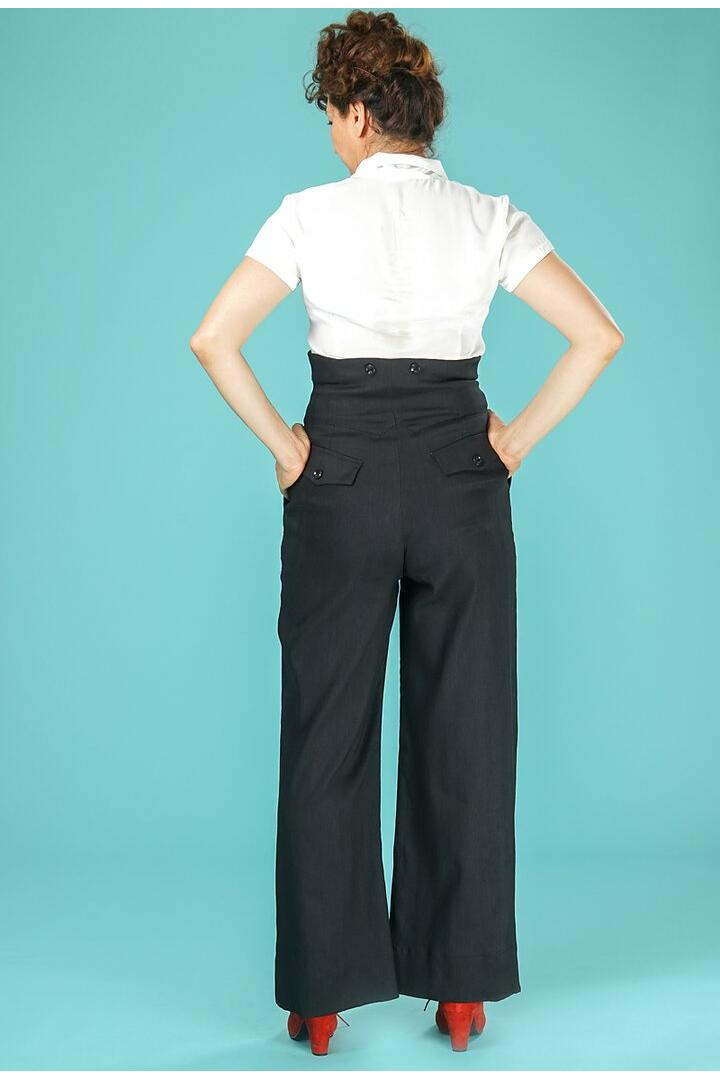 Emmy Miss fancy pants slacks Sort
