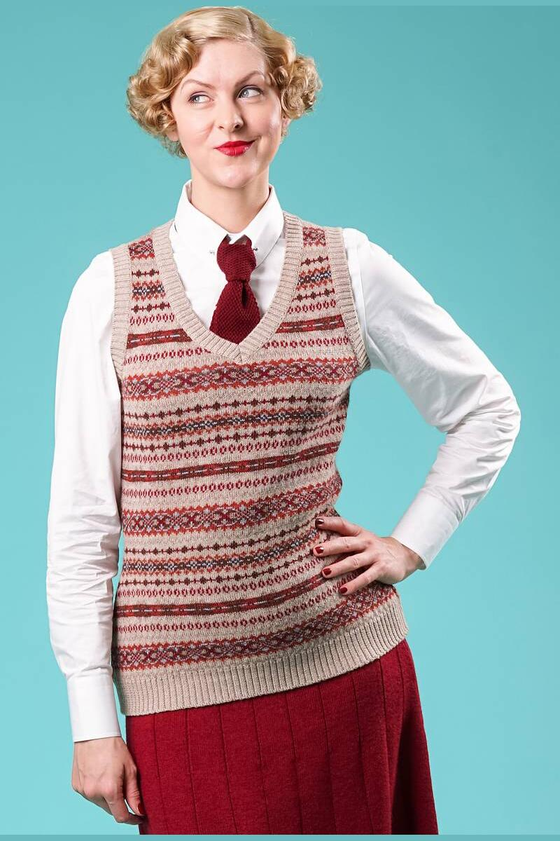 Emmy Best Sweater Vest Havre/multi