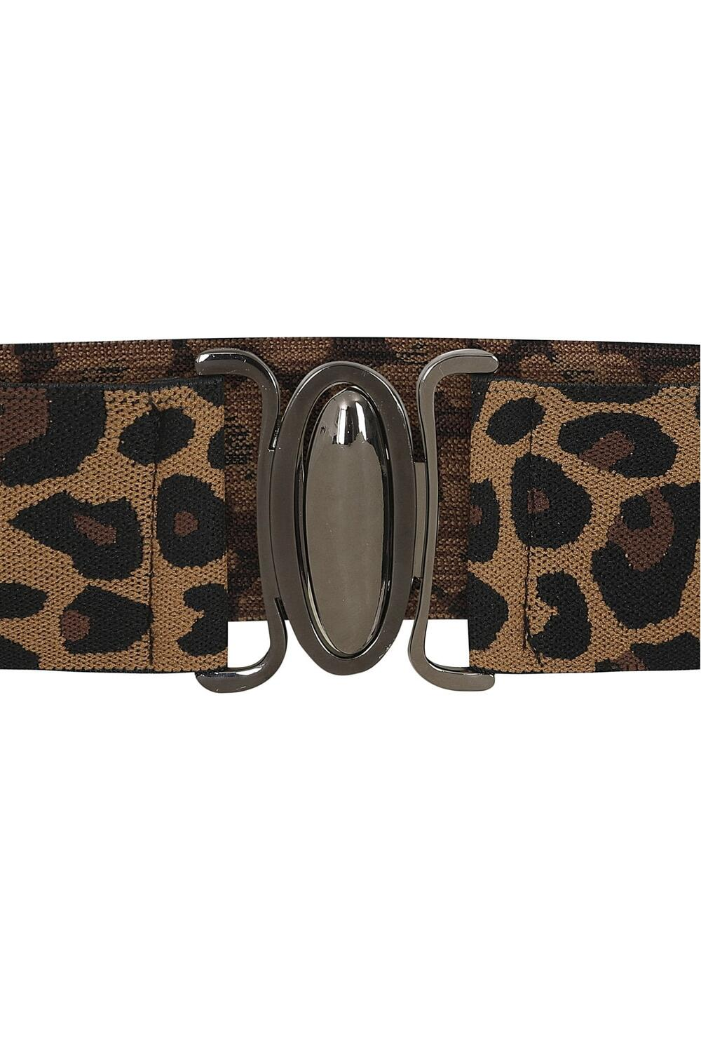 Collectif Strikkbelte Janice leopard