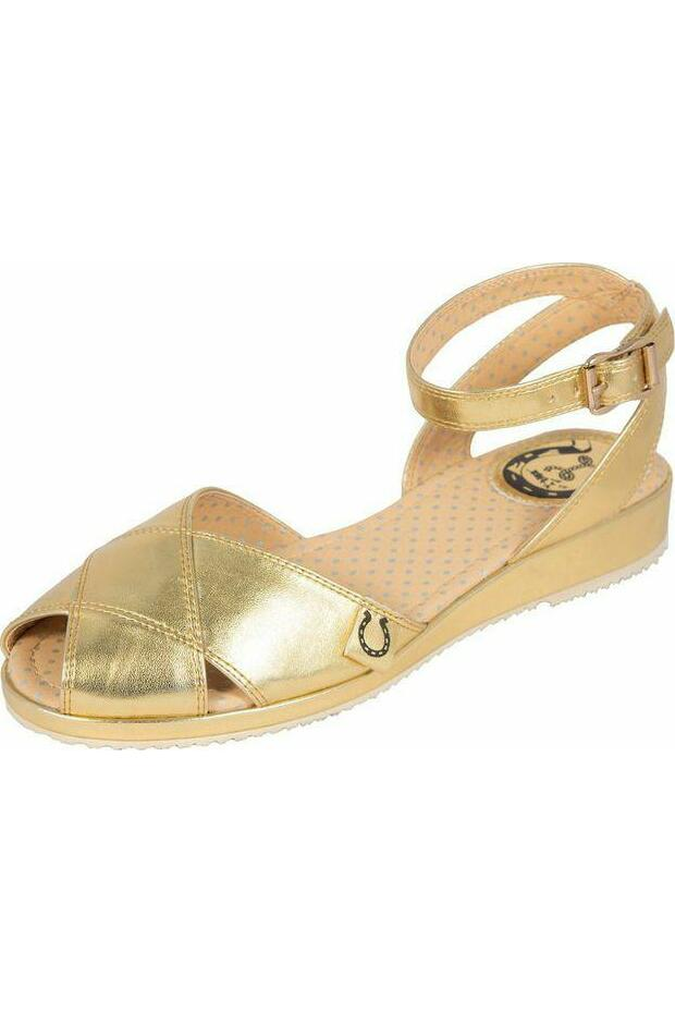 Miss Lfire Harlow ankle strap sandals Gull
