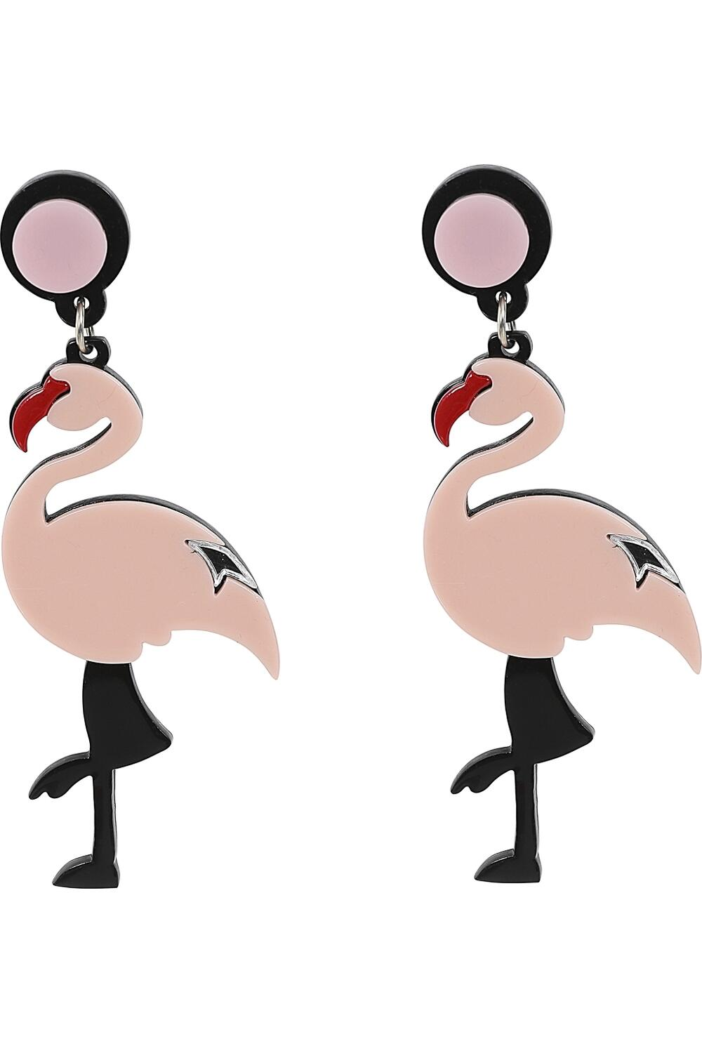 Collectif Øredobber Flamingo rosa