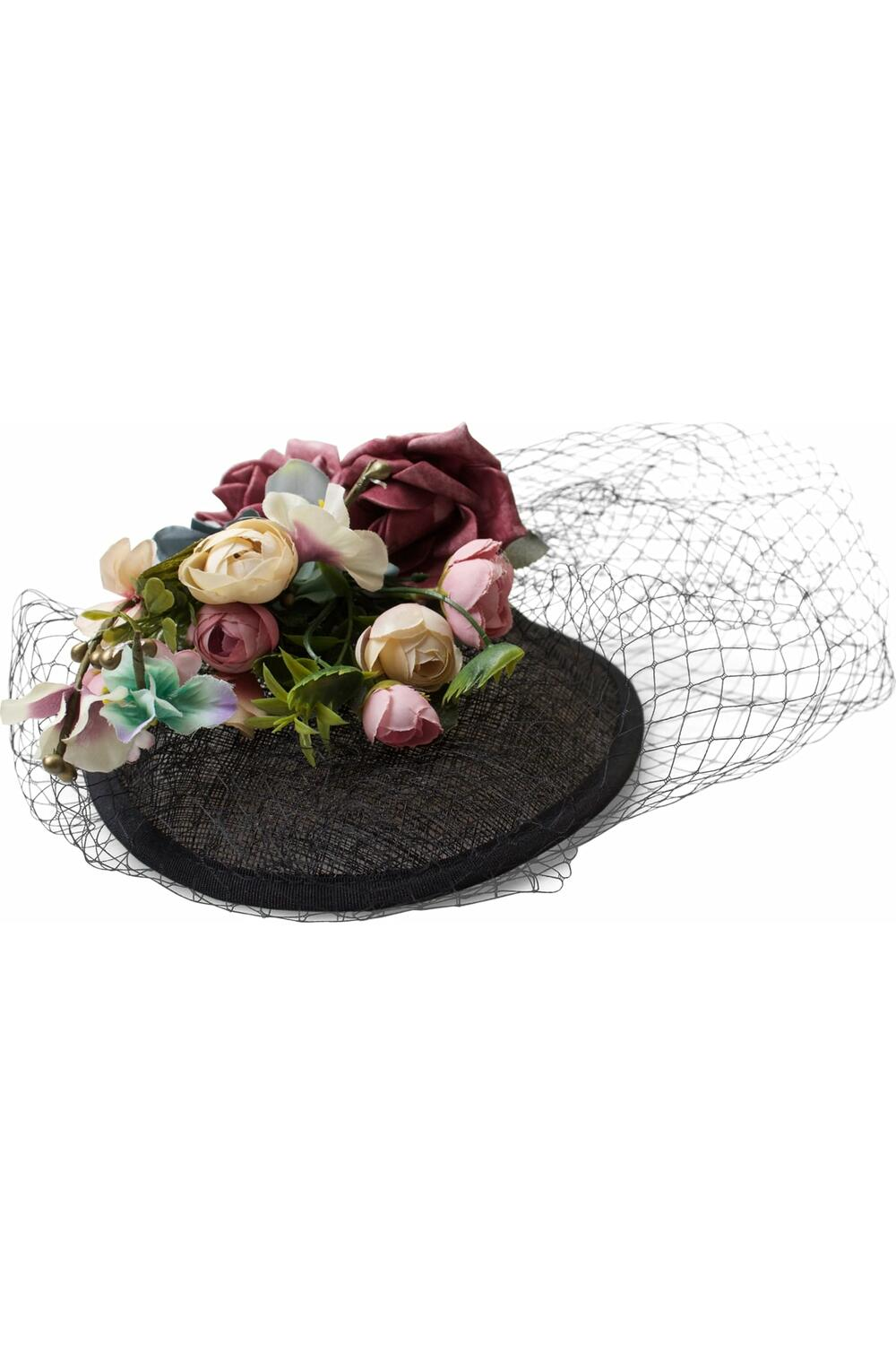 Collectif Hatt Paige floral Fascinator sort