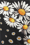 Collectif Dorma Daisy skjerf sort