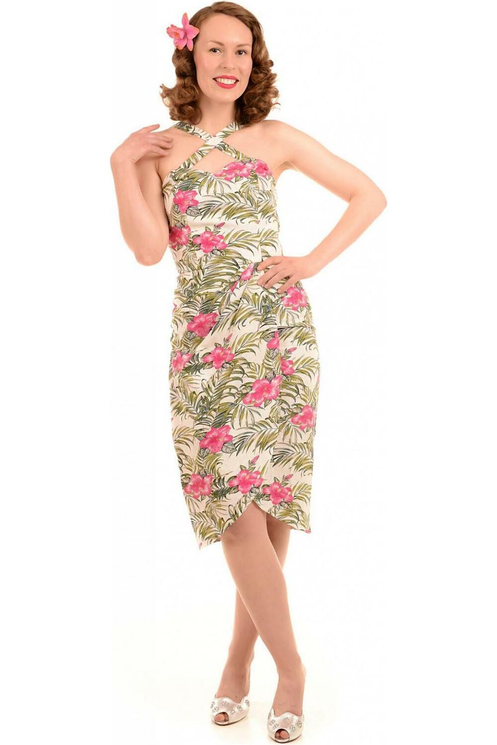 Collectif Mahina Dress Tropical bamboo