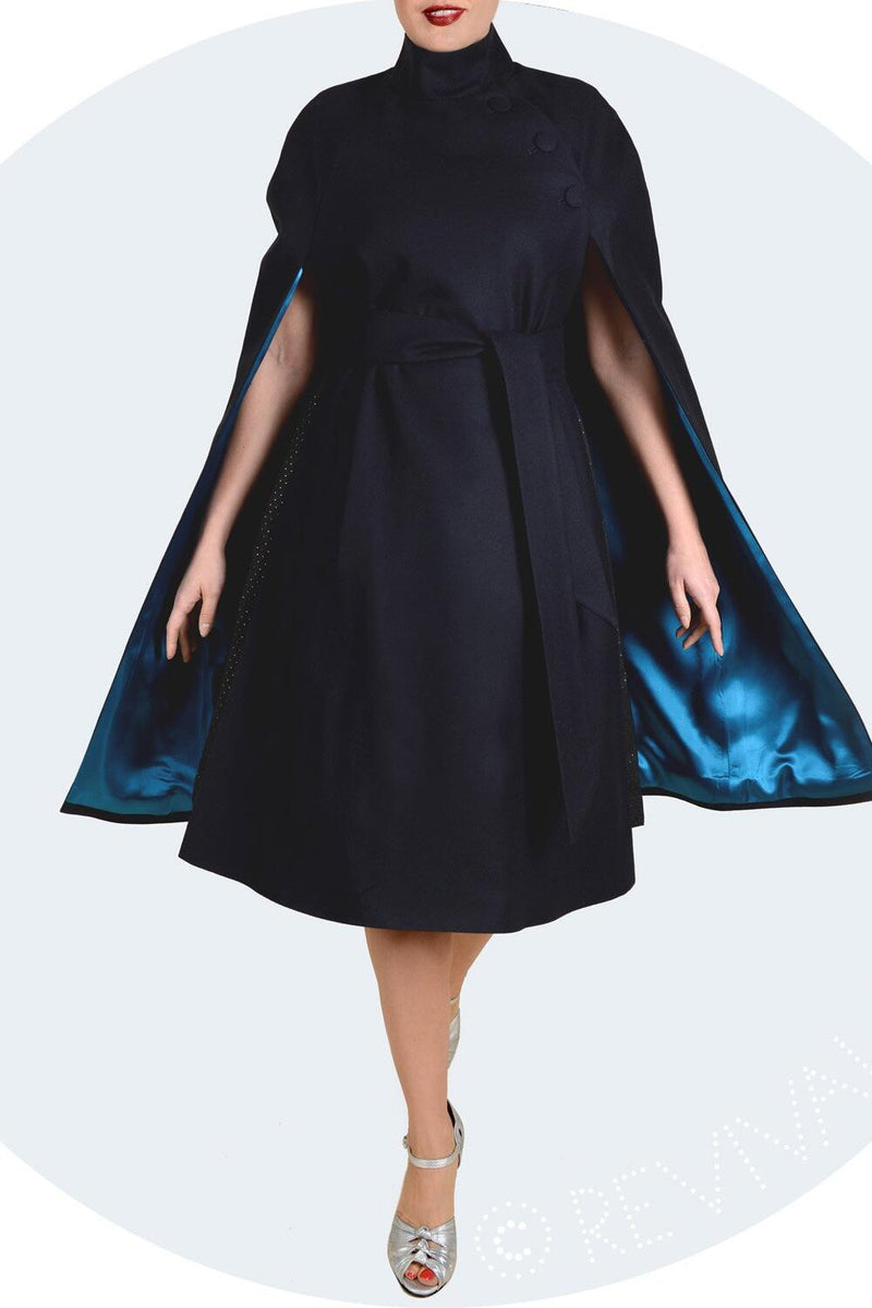 Revival Retro Knightsbridge Cape