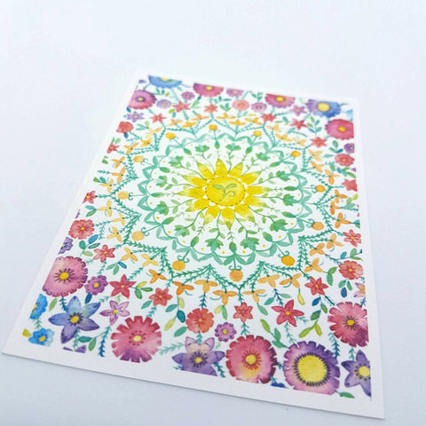 Mini Aceo Print - Little Seed Mandala