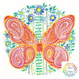 Beautiful Butterfly Print on A4 Watercolour paper