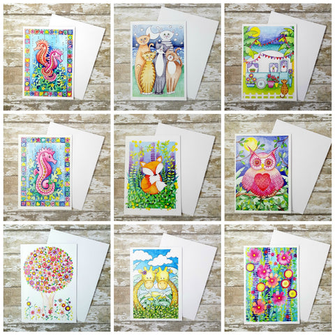 Greetings Cards Buy 2 Get 1 Free - Greetings cards - Birthday Cards - Pack Of Cards