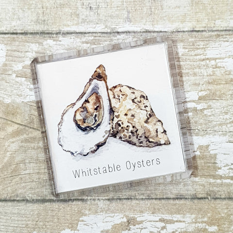 Fridge Magnet - Oyster Art - Whitstable