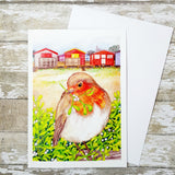 Whitstable Christmas Cards x 5 - Christmas Card - Seasons Greetings