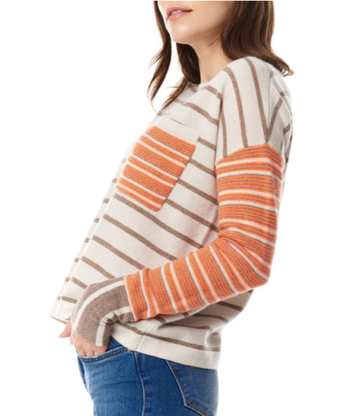 Lisa Todd Oh My Stripe! Sweater