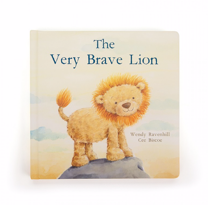 "Jellycat ""The Very Brave Lion"" Book"