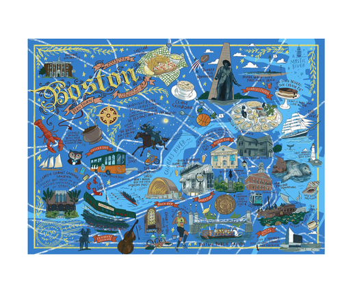Boston Illustrated Puzzle