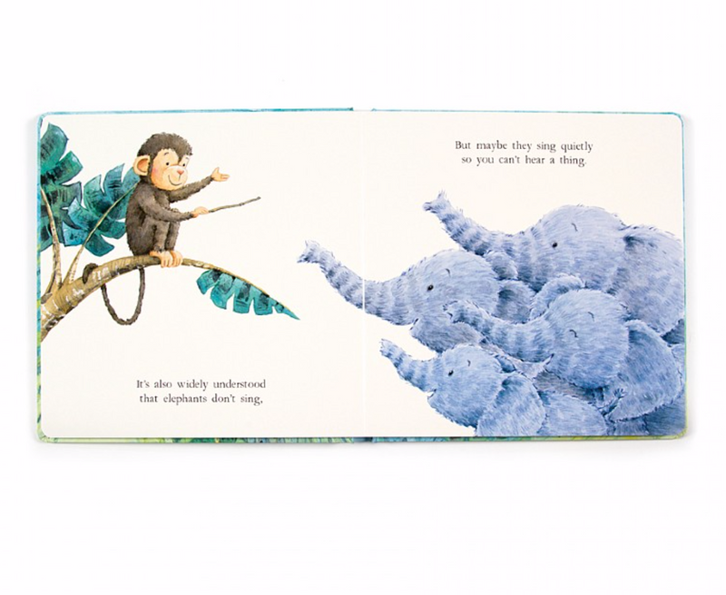 "Jellycat ""Elephants Can't Fly"" Book"