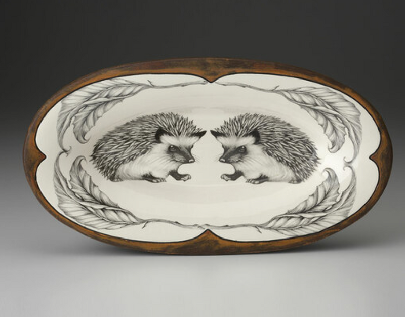 Hedgehog Oblong Serving Dish