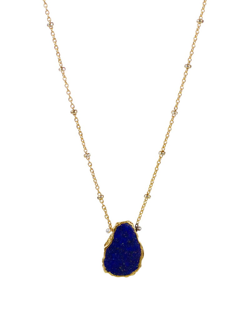 Atlantis Lapis Necklace