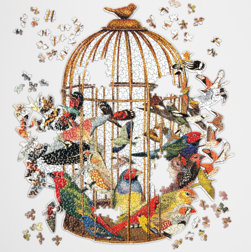 Bouquet of Birds Puzzle