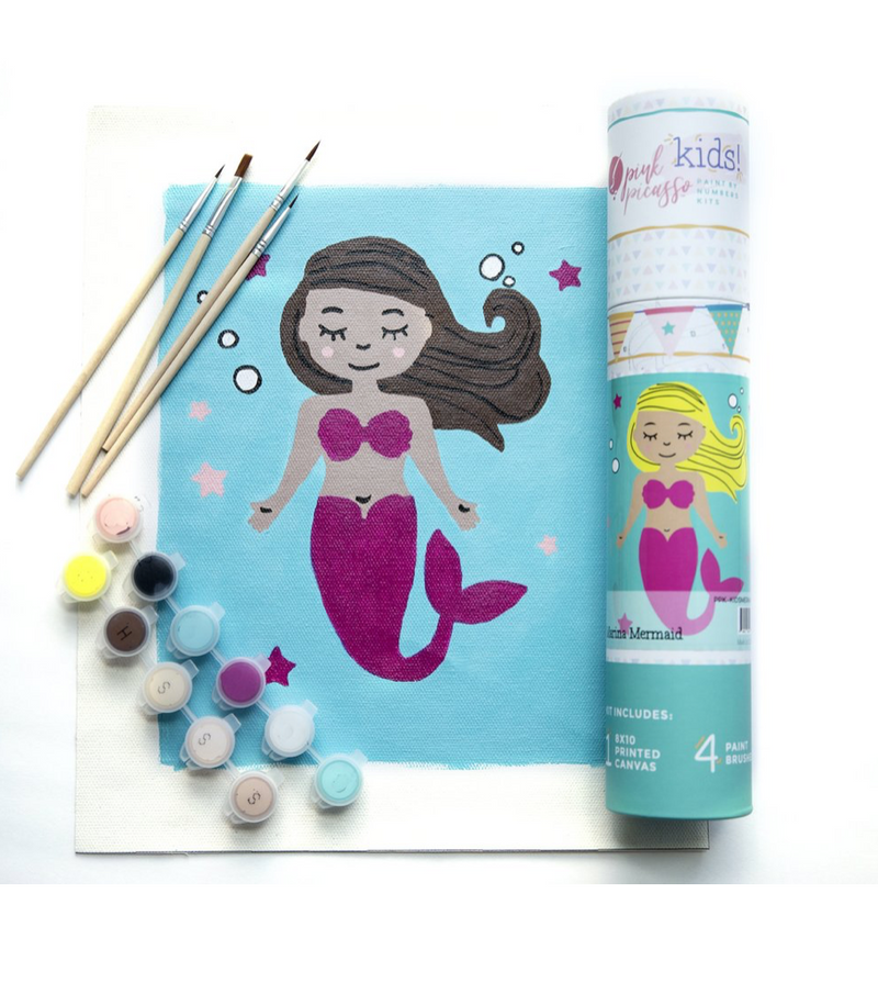 Paint By Numbers Marina Mermaid