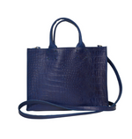 Adelaide Royal Croc Handbag