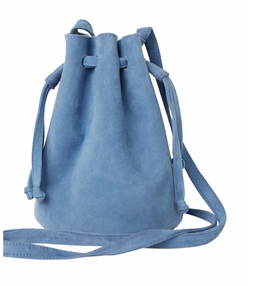 Evie Denim Poof Crossbody