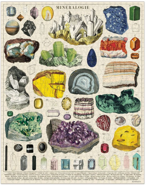 Copy of Cavallini & Co. Mineralogy Puzzle