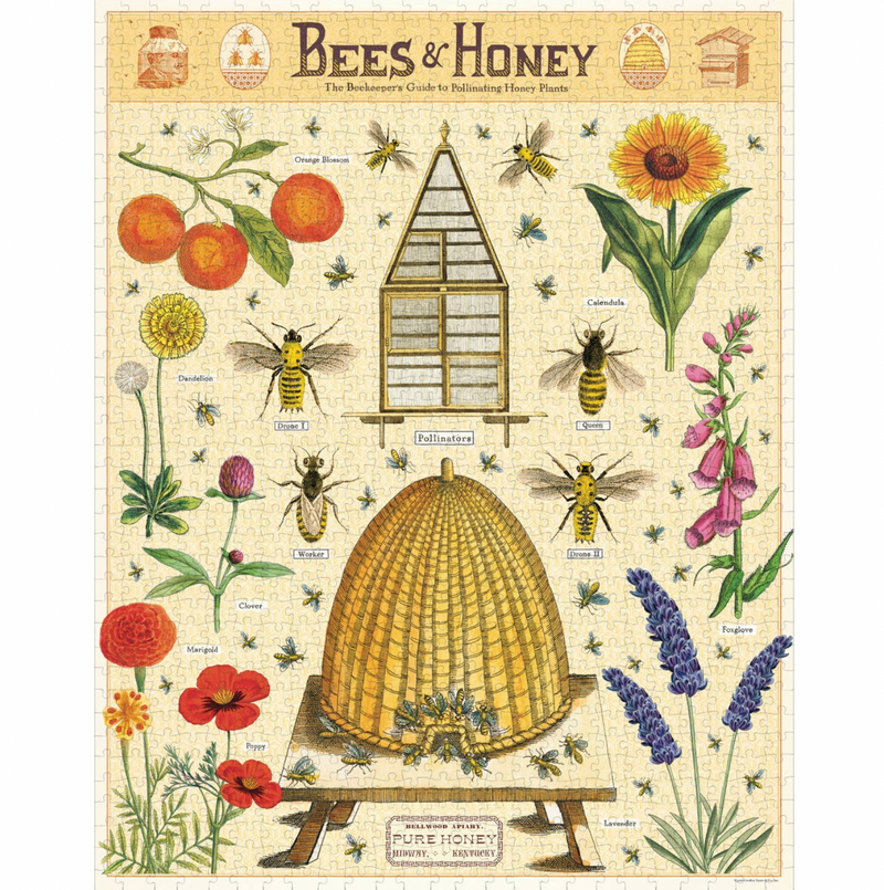 Cavallini & Co. Bees & Honey Puzzle