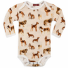 Natural Dog Organic Cotton Long Sleeve One Piece