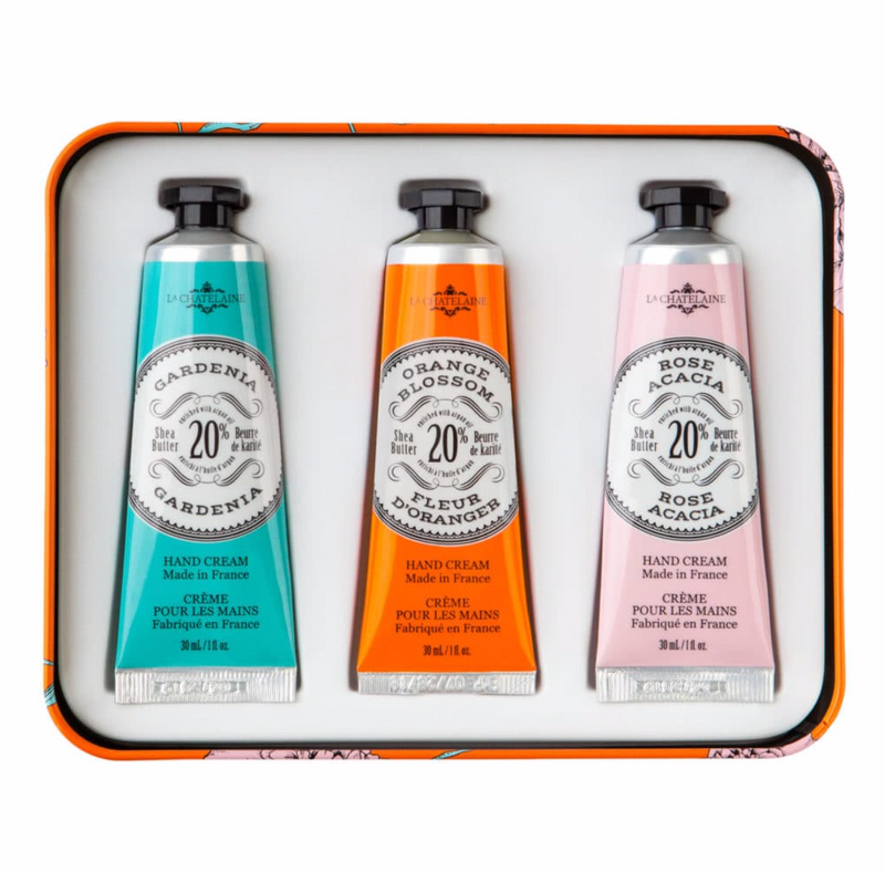 Orange Hand Cream Trio Gift Set