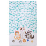 Kittens Tea Towel