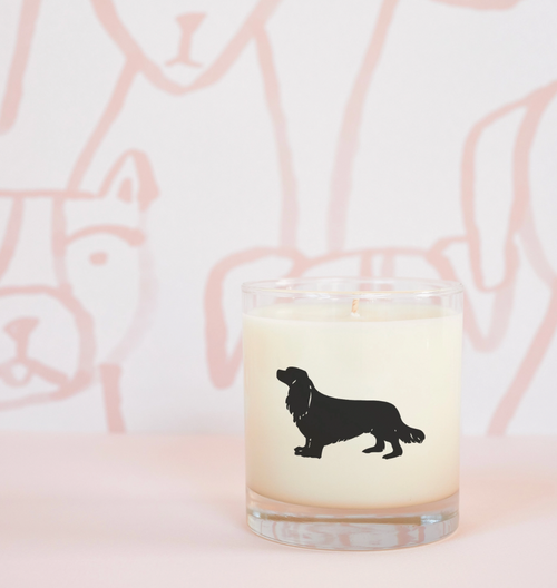 Cavalier King Charles Spaniel Dog Soy Candle