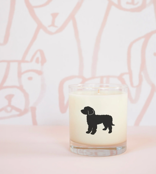 Goldendoodle Dog Soy Candle