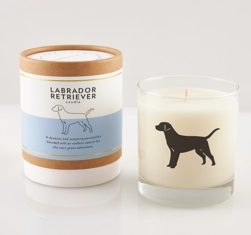 Labrador Retriever Dog Soy Candle