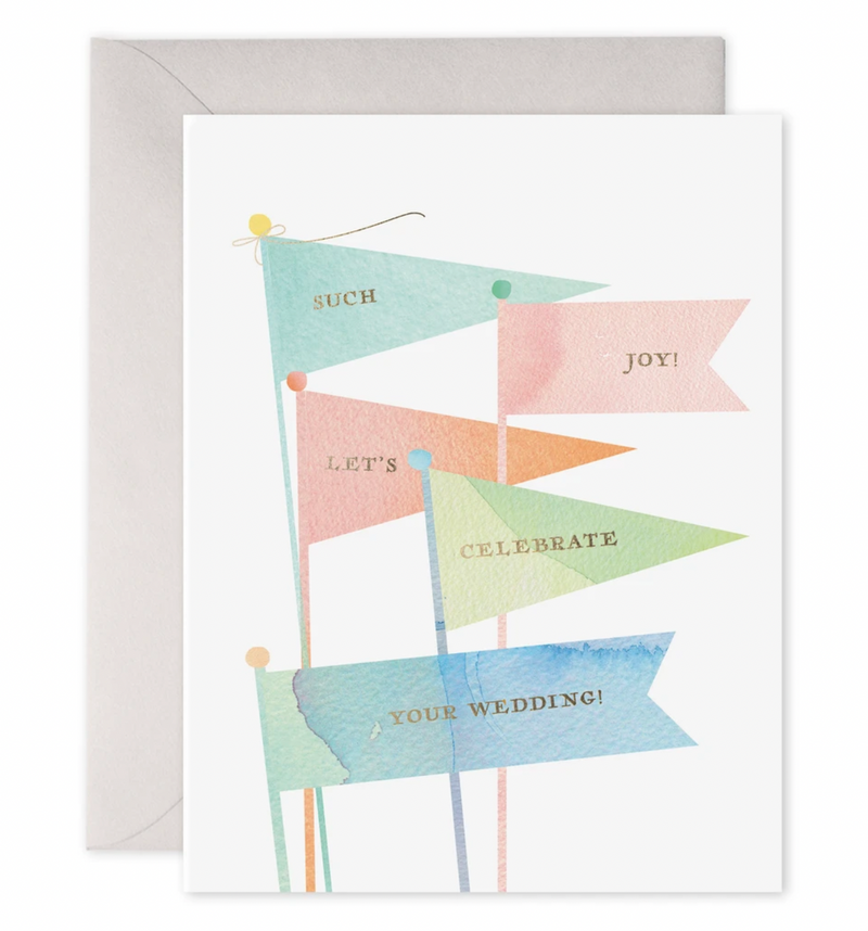 Wedding Flags Card
