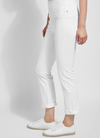 Lyssé White Boyfriend Denim