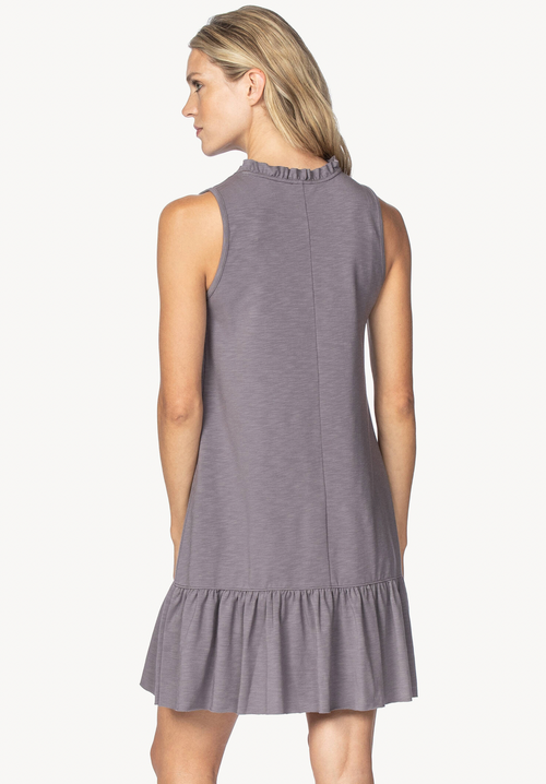 Lilla P leeveless Peplum Dress