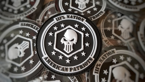 Three Percent Nation Velcro Patch