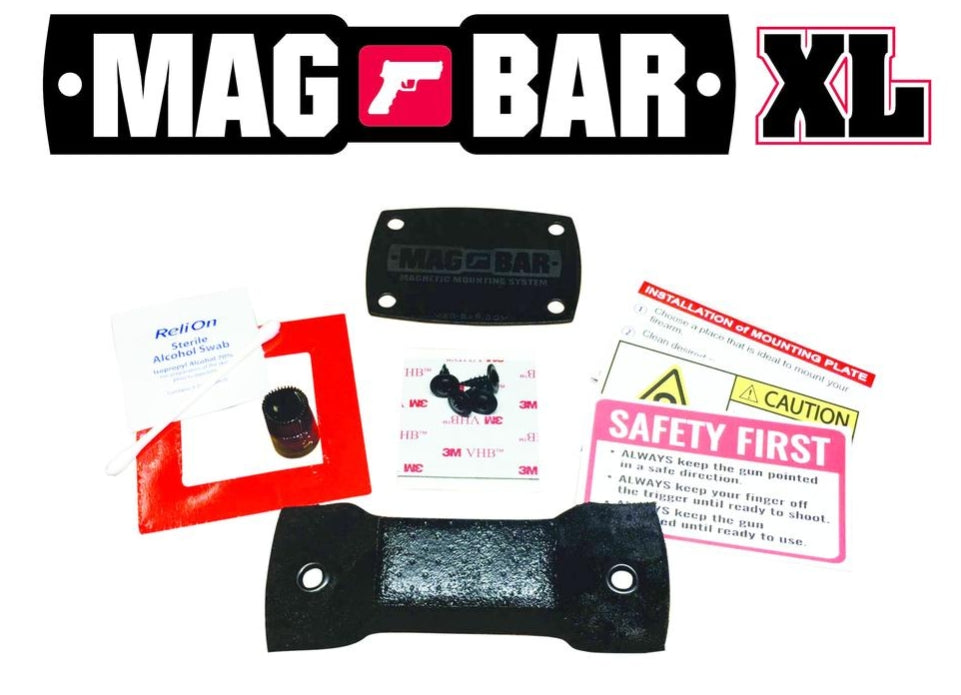 MAG-BAR® XL Mounting System for Rifles and Holstered Pistols